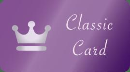 クラシック会員:クラシックカード