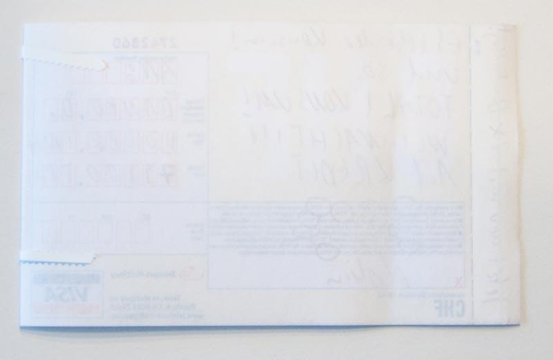 Visa-Formular 2