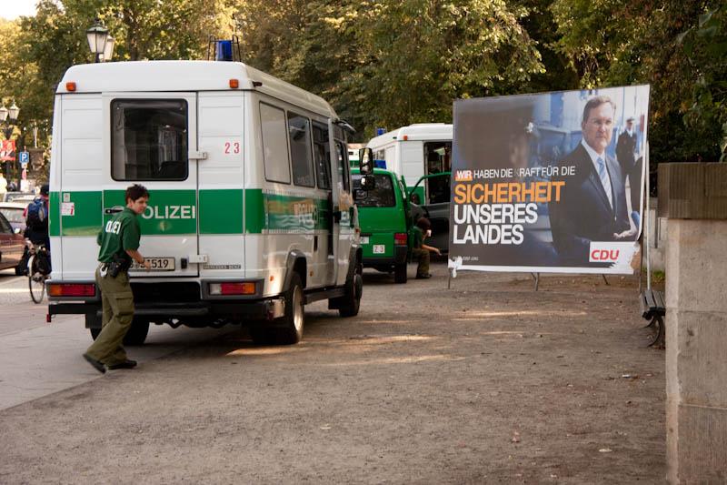 CDU Wahlkampf Sicherheit Polizei Berlin