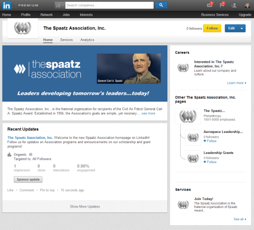 Spaatz LinkedIn Advertising