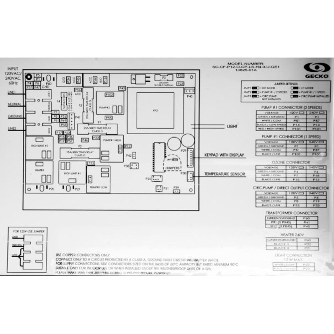 gecko hot tub control panel wiring diagram fuse diagram for