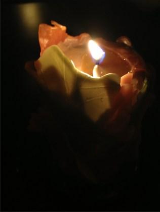 小池安雲キャンドルナイトin鏡華水月~ 我流切紙人 諸行無常展・弐(Gallery mu)