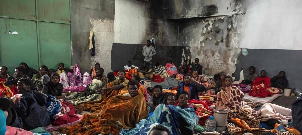 Libyen: schockierender Blick in die Hölle