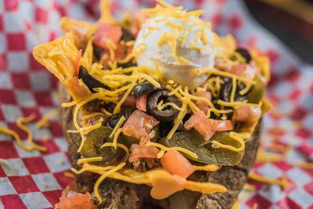 Fiesta Taco Potato