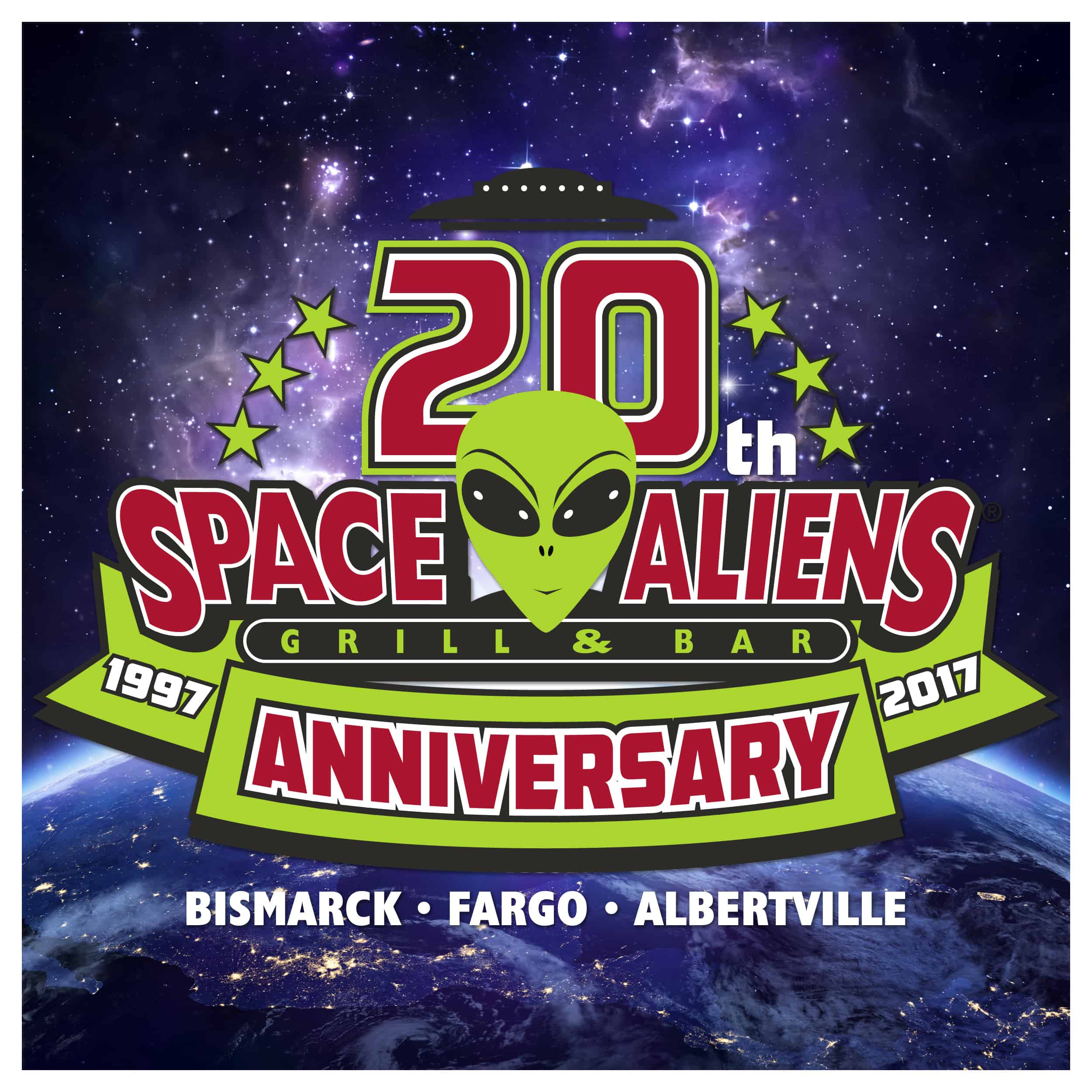 Space Aliens Anniversary