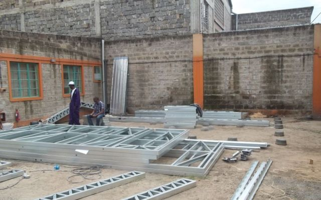 space and style roofing frametech installation