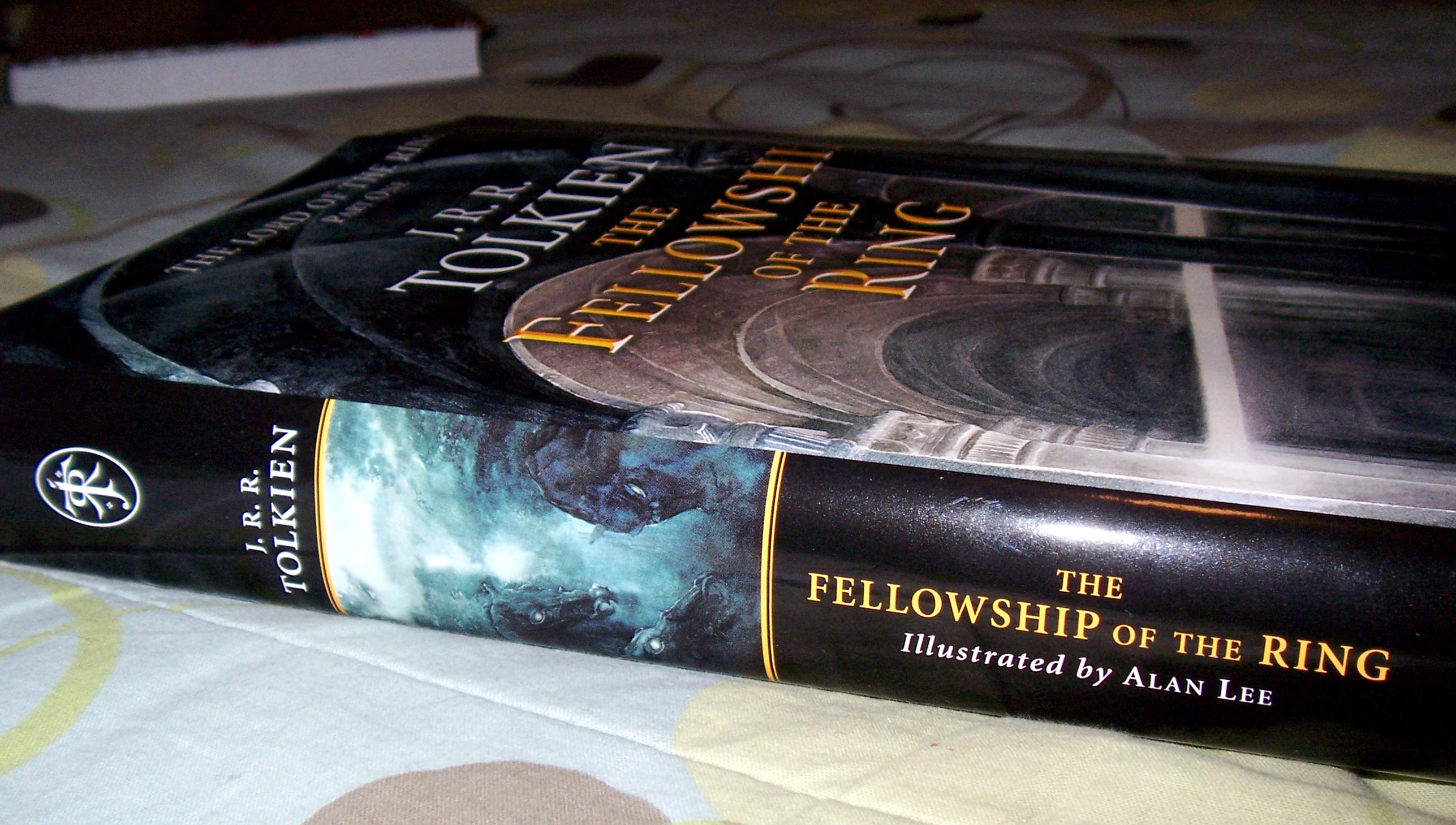 By the way, I finished reading The Hobbit and have started The Lord of the Rings.