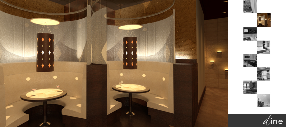 Restaurant interior design Sarasota Tampa Florida by Space as Art