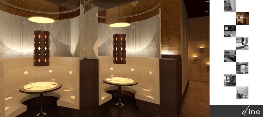 Restaurant interior design Sarasota Tampa Florida by Space as Art