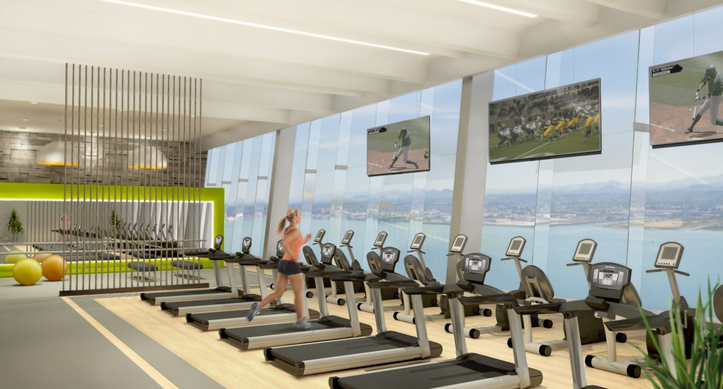 Sports and Fitness facility interior design
