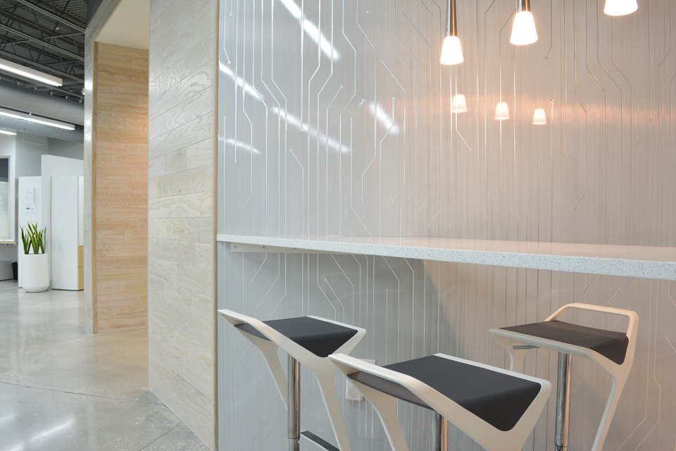 Modern office design in Tampa Florida by Space as Art
