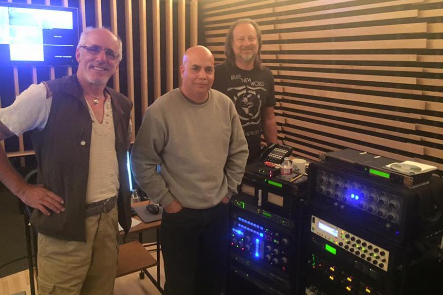 John X, Louie Teran & Darby at Marcussen Mastering