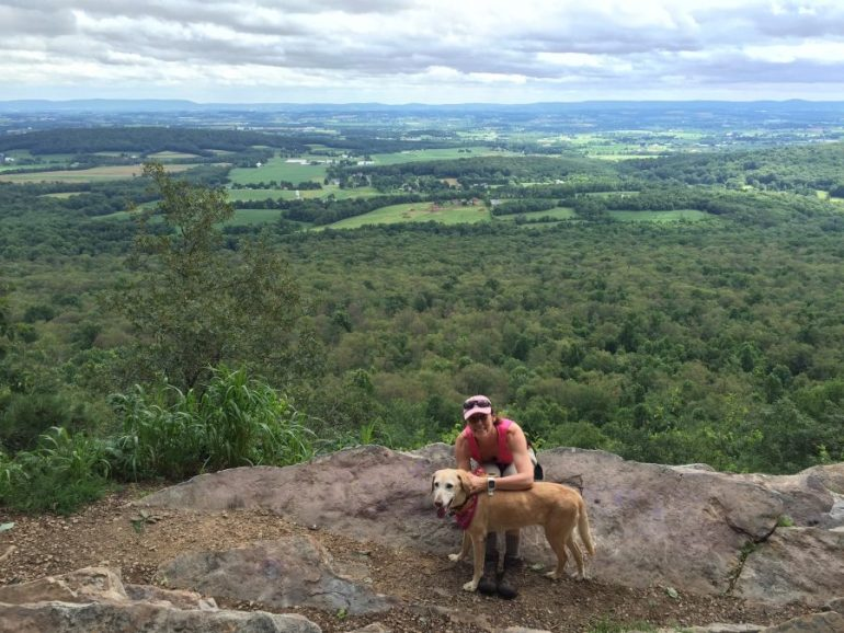 My best girl Butterfly hiked over 300 miles on the Appalachian Trail at age 13.