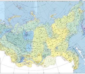 Карта Снегового покрова по СП 20.13330.2016