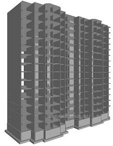 Расчет 15 ти этажного монолитного дома в Мономах САПР Пример