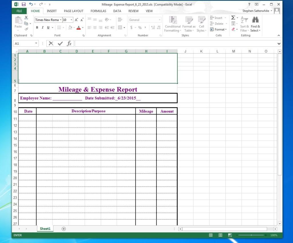 Excel Sizefix