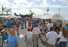 Space Coast Art Festival Crowd