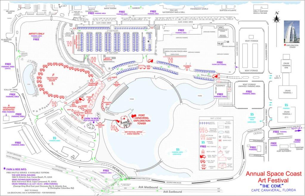 SCAF Map
