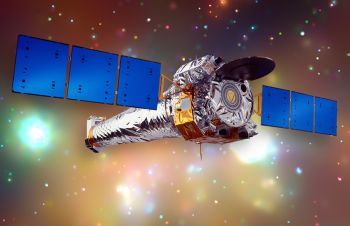 NASAs Chandra Spacecraft Locates Small Black Hole