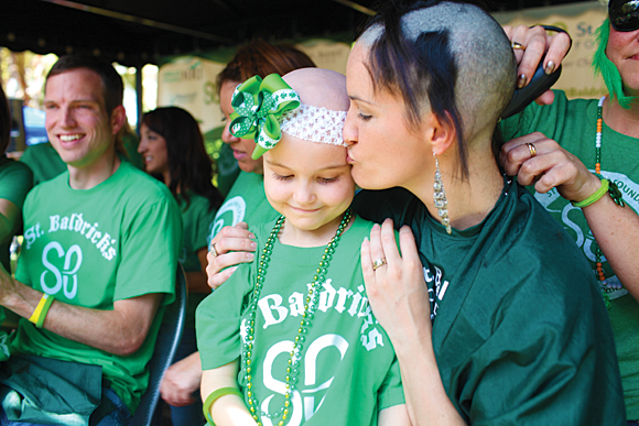 St. Baldrick's 'Brave the Shave For Kids With Cancer ...