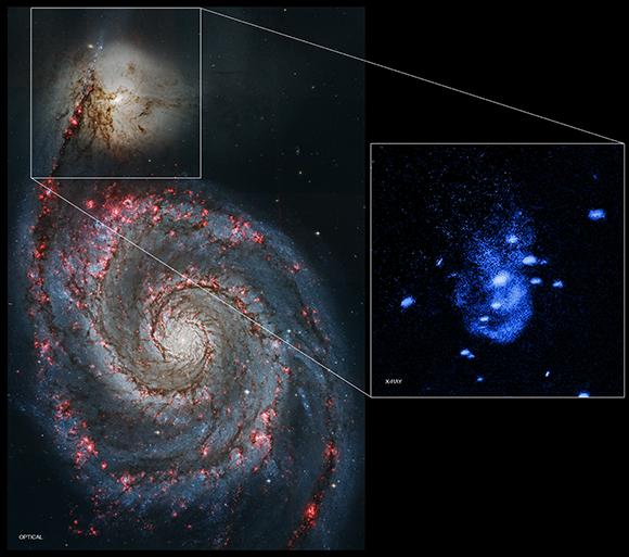 NASA's Chandra Finds Supermassive Black Hole Burping ...