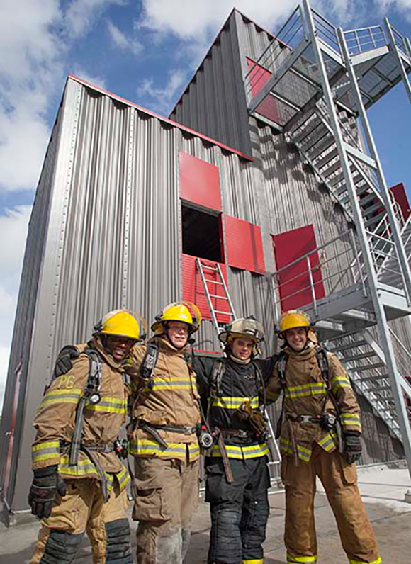 New Fire Training Center Opens On Eastern Florida State's ...