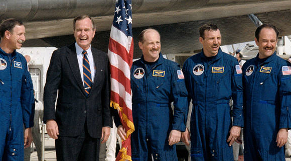 NASA Releases Statement On Passing of George H.W. Bush ...
