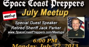Space Coast Preppers.com Announcing Our July Meetup - Space Coast Preppers