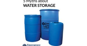 5 Myths about Water Storage