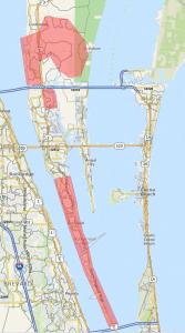 Merritt Island Select Map