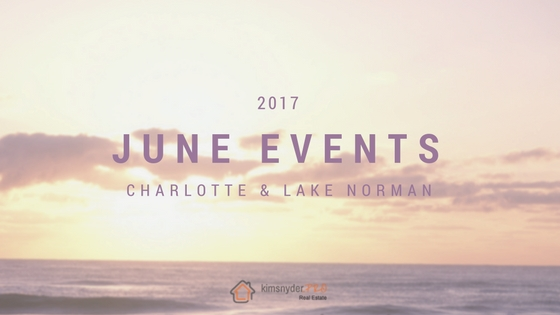 June 2017 EVENTS in Lake Norman