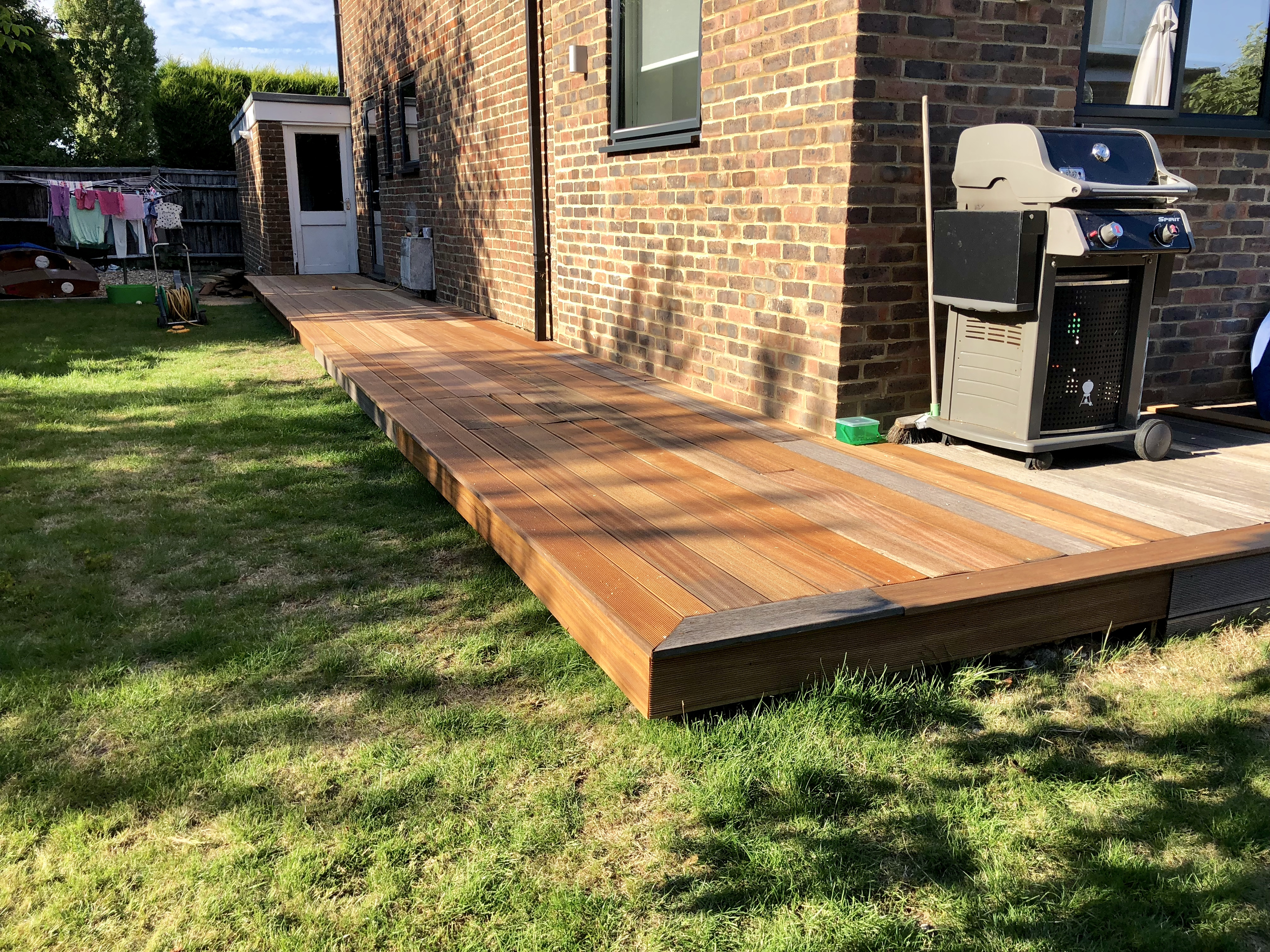 2 Very Different Decking Extensions – Hard and Softwood