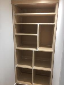 Bespoke Wooden Cabinets to fit into unused Space