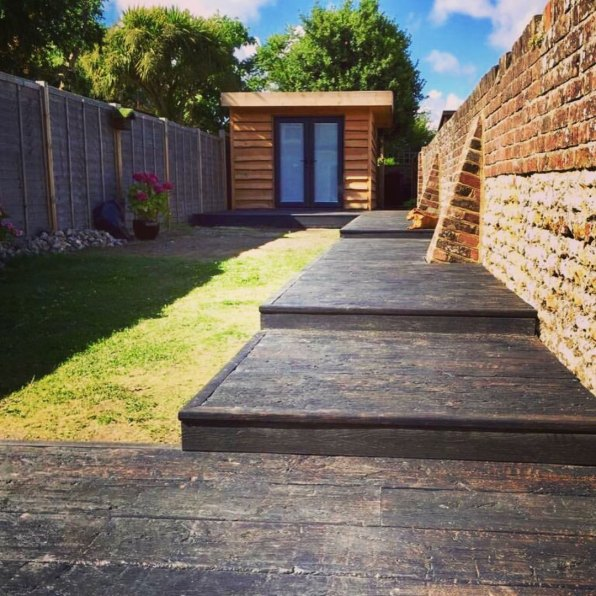 Garden Room and Decking