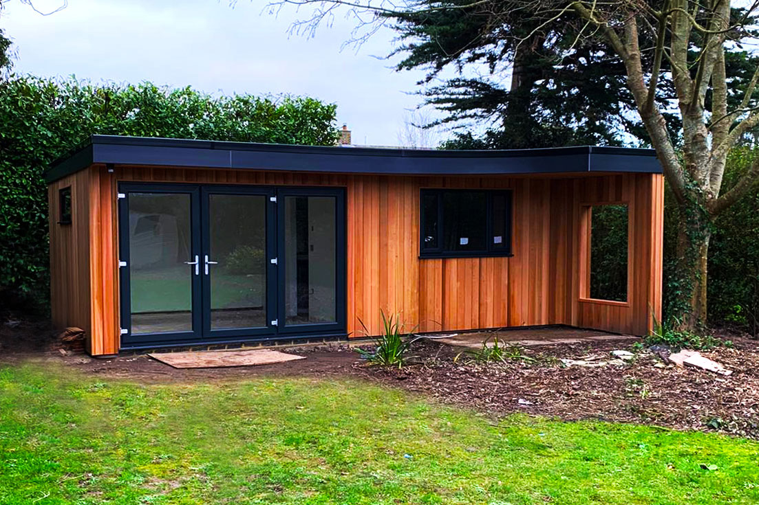 Garden Room Cladding