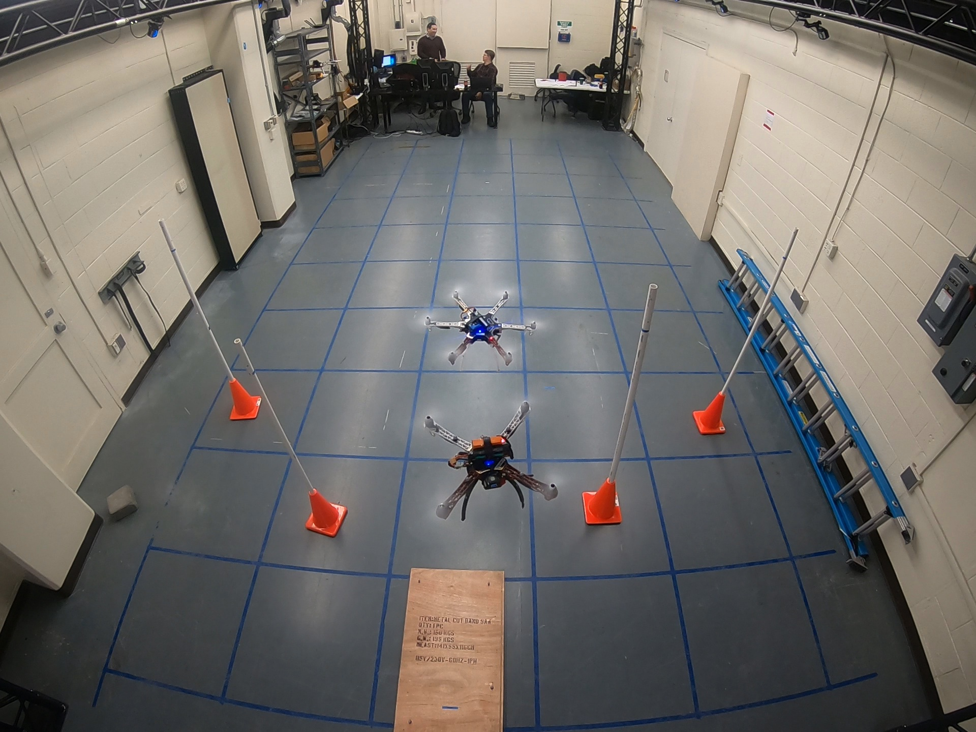 Spacedrones Full Distributed Uas Space Based Robotic