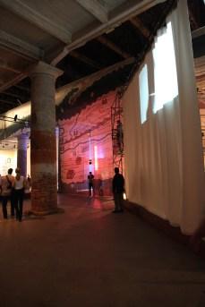 The installation seen through the Tabula Peutingeriana, the Roman map of Europe.