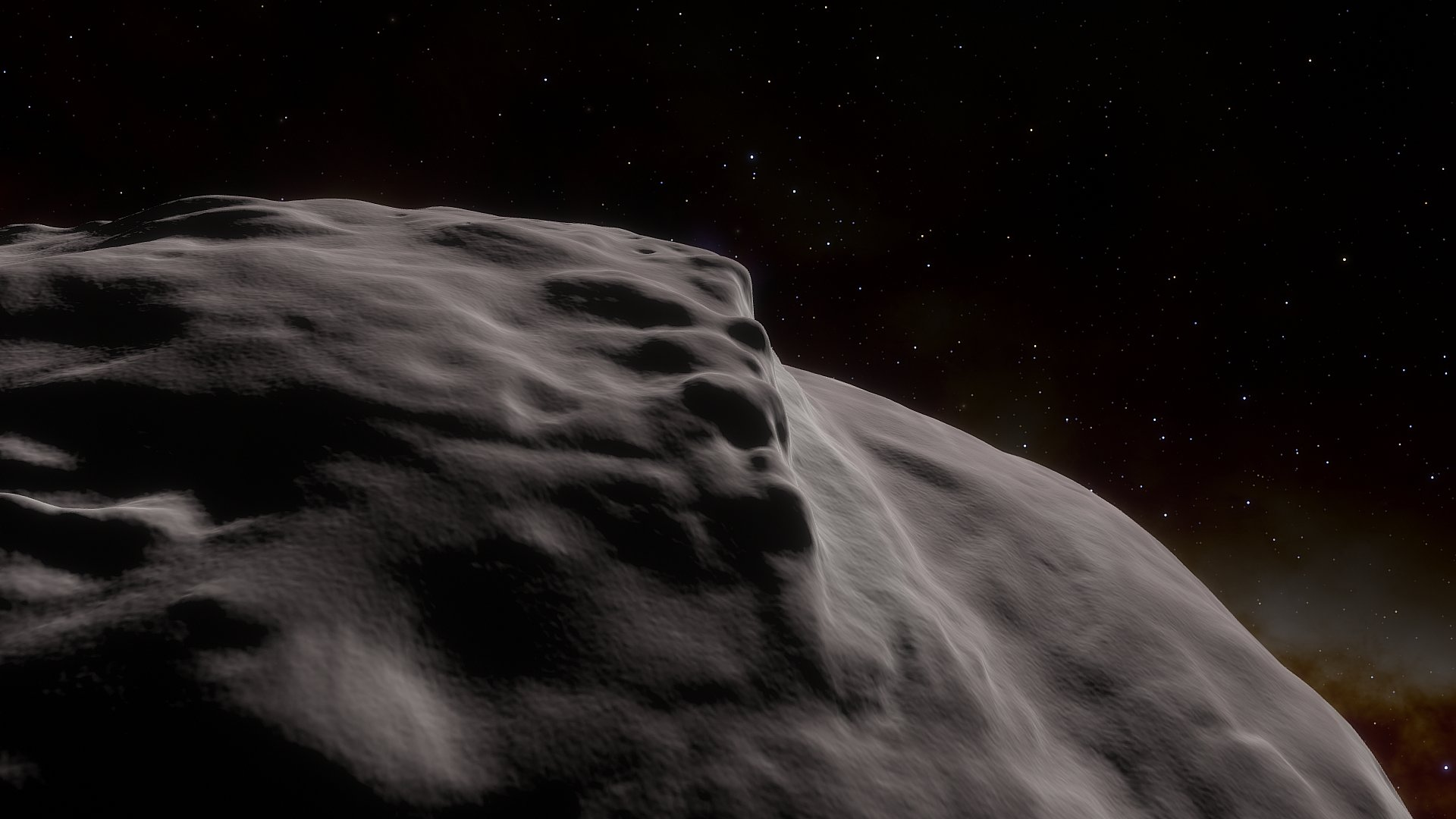 Real Celestial Objects Space Engine