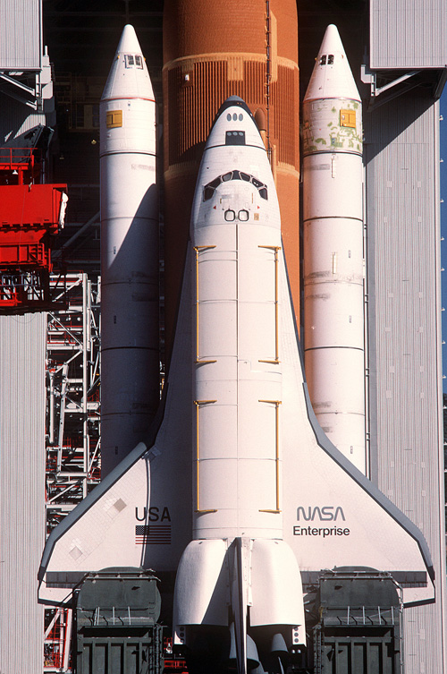 Spaceflight Now | Delta Launch Report | A space shuttle ...