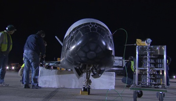 Spaceflight Now Breaking News X37B space plane towed