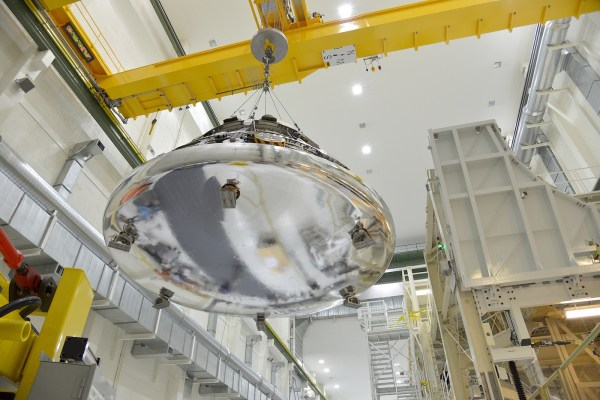 Engineers recommend changes to Orion heat shield ...