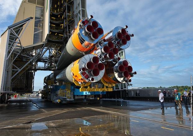 Photo credit: ESA/CNES/Arianespace - Photo Optique Video du CSG - P. Baudon
