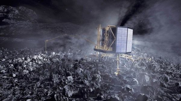 Rosetta begins listening for signs of life from comet ...