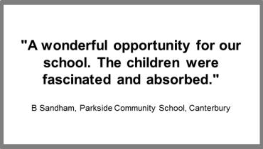 Parkside Community School review of The Biggest Rocket Ever Built
