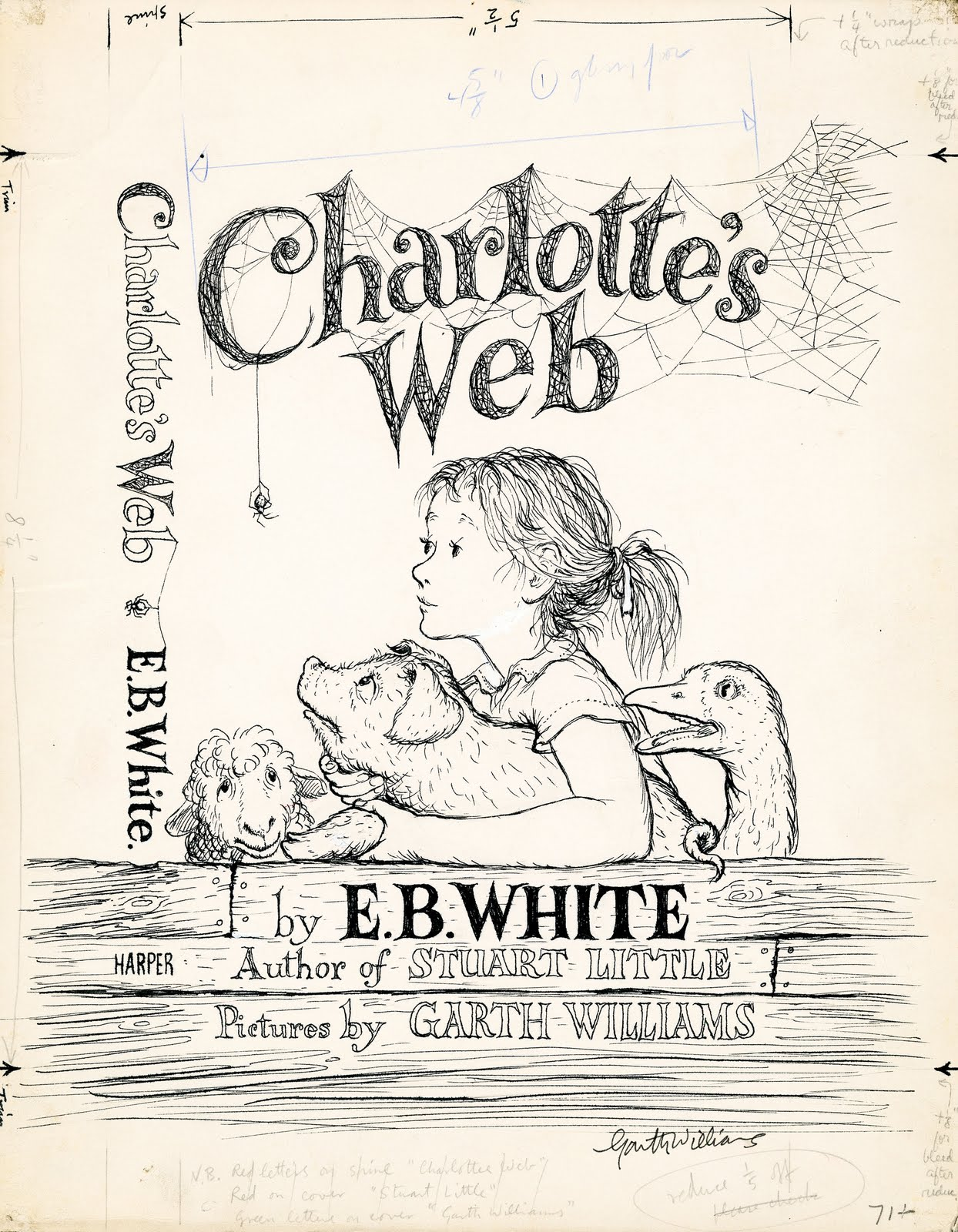 Charlotte S Web Garth Williams