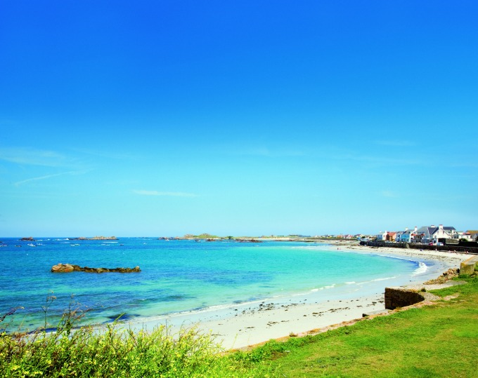 Stunning beaches in Guernsey - European family travel inspiration