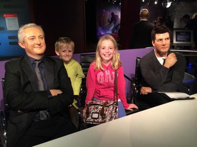 X-Factor judges at Madame Tussaud's Blackpool