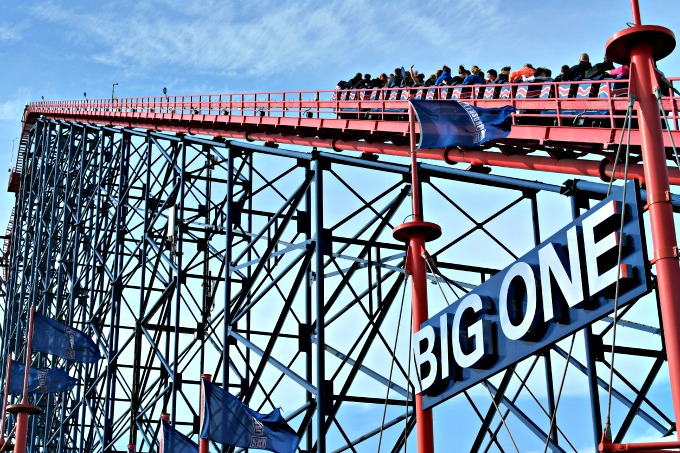 The Big One Blackpool Pleasure Beach for Thrillseekers