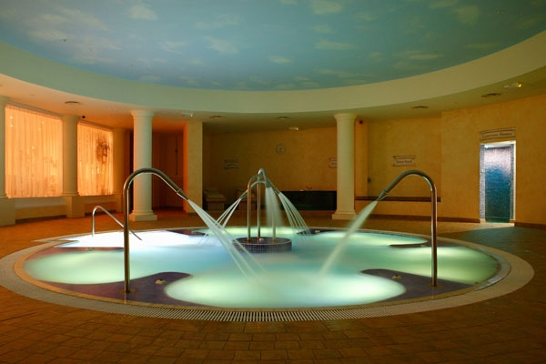 The spa pool at Whittlebury Hall Hotel