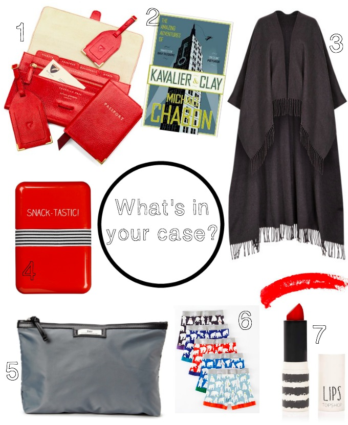 What's in Erica Davies' suitcase
